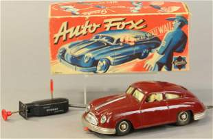 BOXED GERMAN GESCHA AUTO FOX