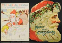 TWO NIGHT BEFORE CHRISTMAS BOOKS