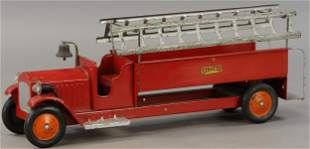 STRUCTO EXTENDED LADDER TRUCK