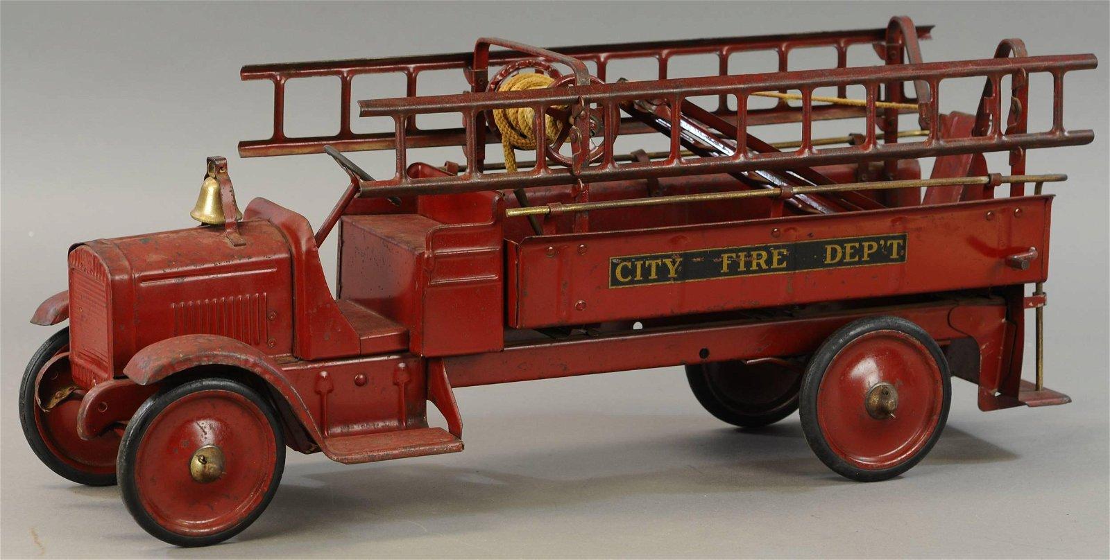 STEELCRAFT GMC CITY FIRE TRUCK