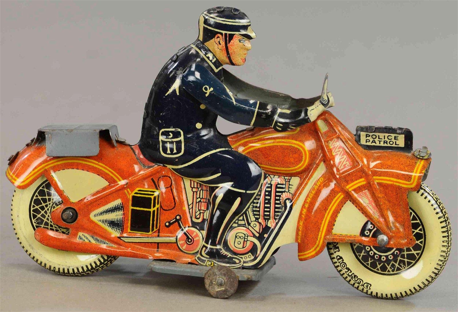 METTOY POLICE PATROL MOTORCYCLE
