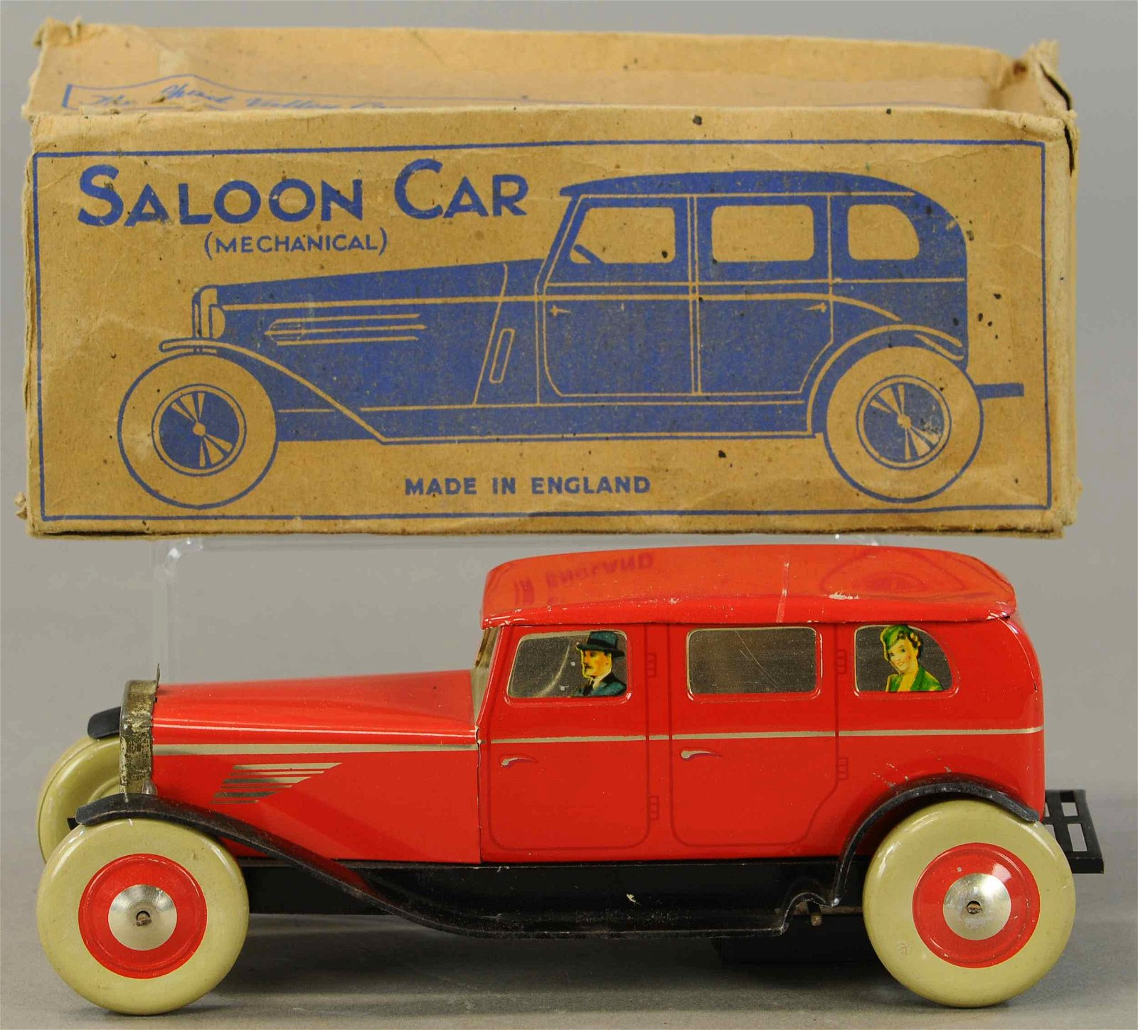 BOXED CHAD VALLEY SALOON CAR