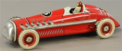 FRENCH MARTINAN & LARNAUDE #5 RED RACE CAR