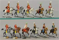 WOLLNER MOUNTED SOLDIERS