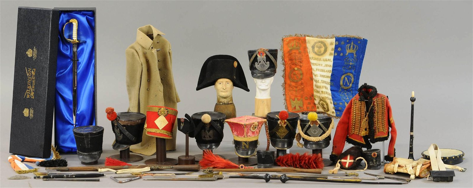 RARE CHARLES SANDRE FRENCH UNIFORMS & EQUIPMENT