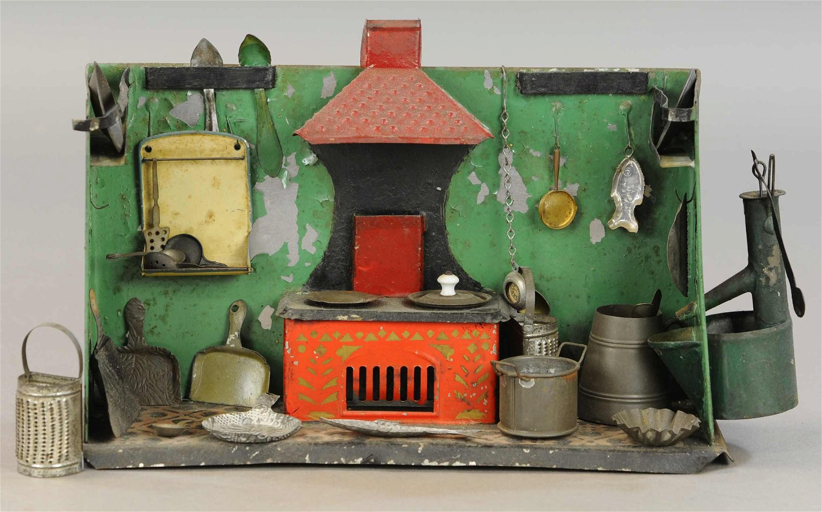 EARLY AMERICAN TIN KITCHEN