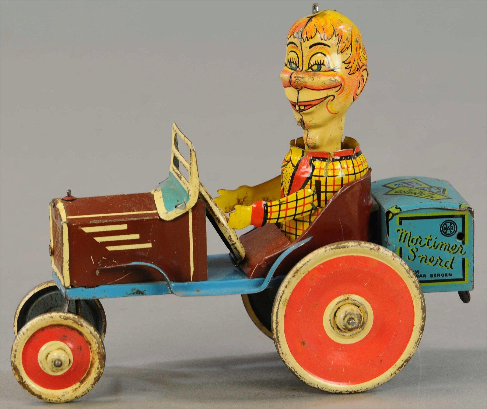 MORTIMER SNERD CRAZY CAR