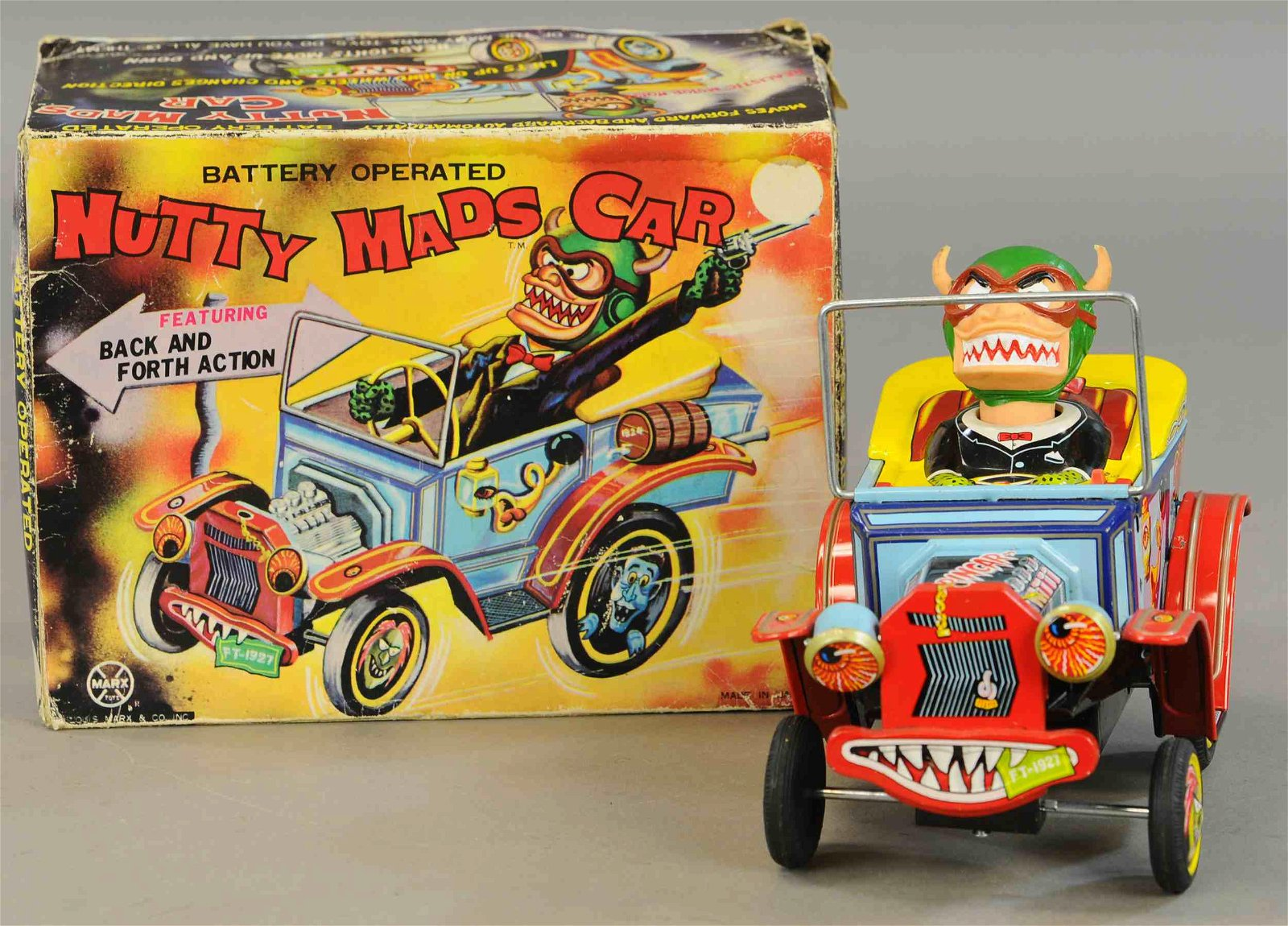 BOXED MARX NUTTY MADS CAR