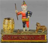 SHEPARD TRICK DOG MECHANICAL BANK