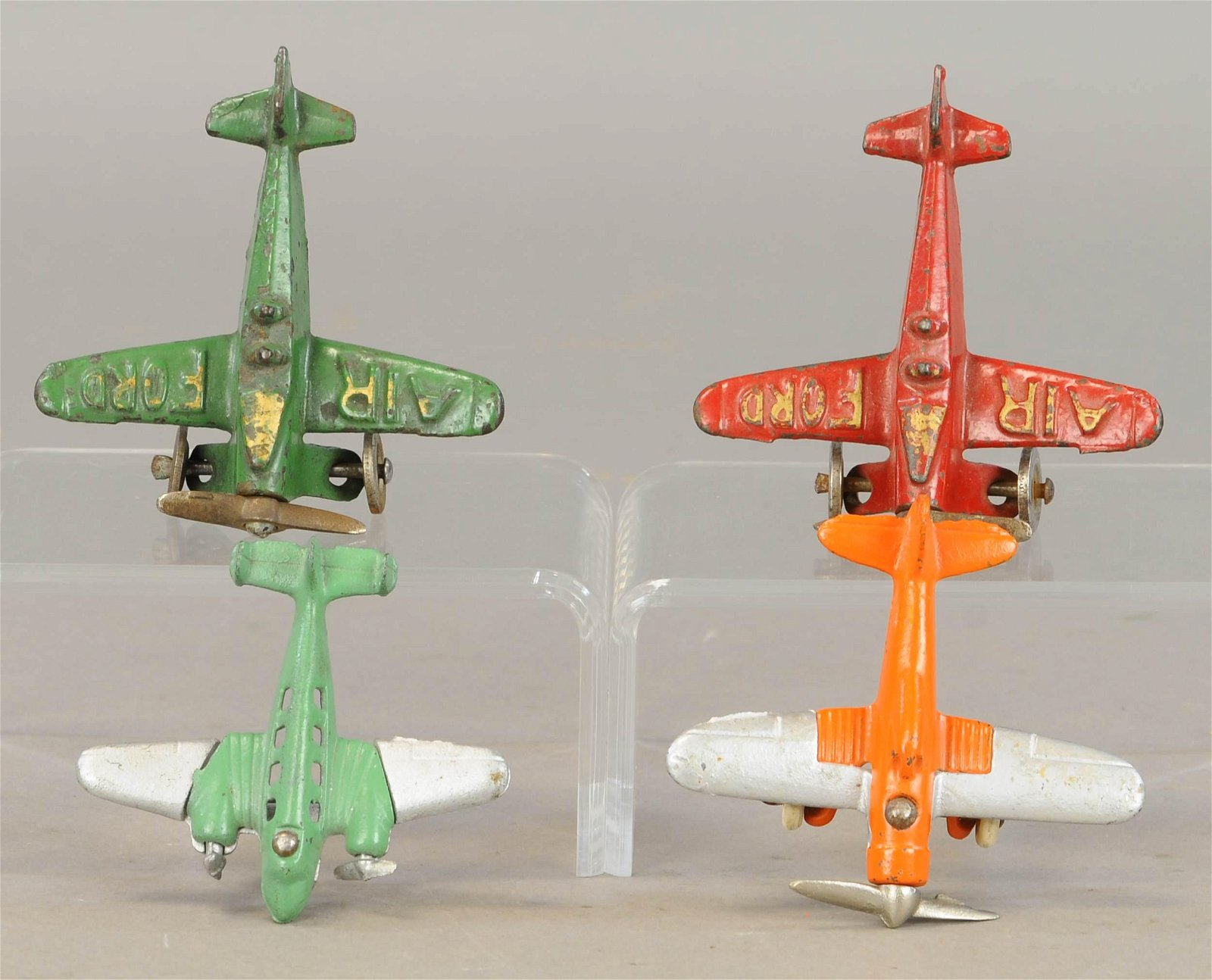 FOUR SMALL HUBLEY AIRPLANES