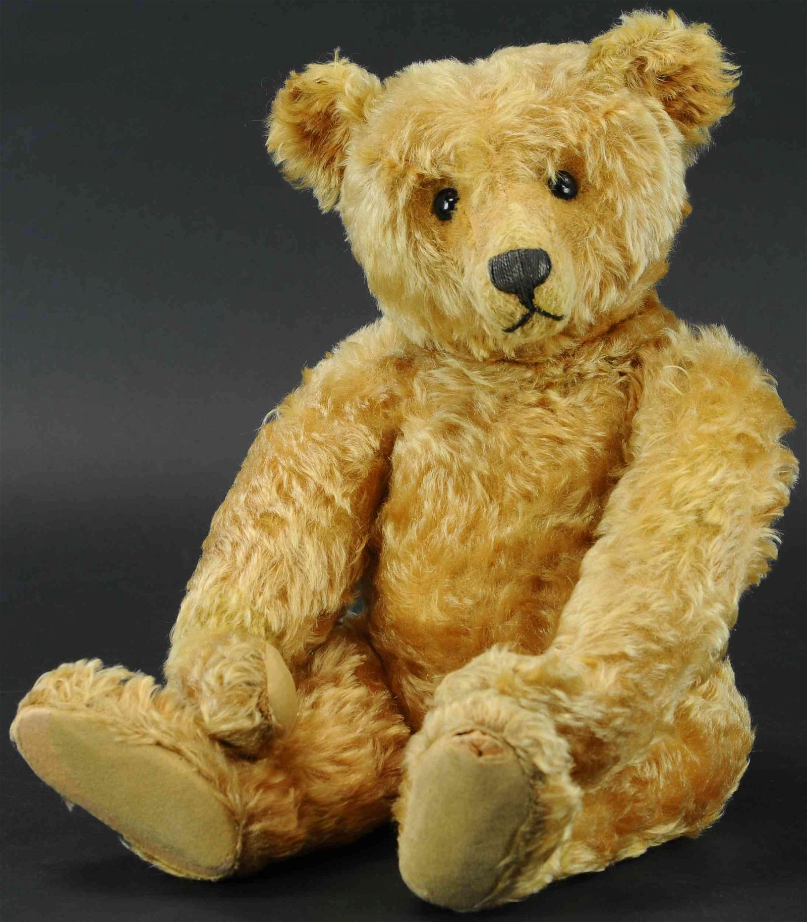 EARLY STEIFF CENTER SEAM TEDDY BEAR