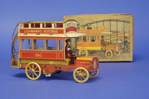 288: LEHMANN BOXED ''AUTOBUS'' (RED VERSION)