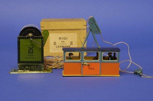 306: LEHMANN BOXED RIGI CABLE CAR