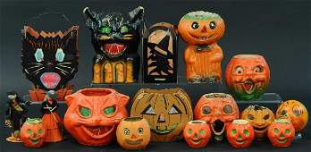 LARGE GROUPING OF HALLOWEEN PARTY ITEMS