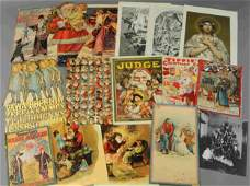 LARGE ASSORTMENT OF CHRISTMAS PAPER ITEMS