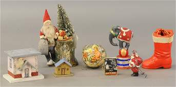 INTERESTING GROUP OF CHRISTMAS ITEMS