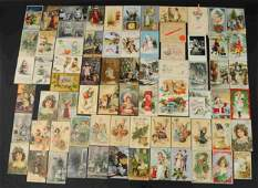 ANTIQUE CHRISTMAS AND NEW YEAR CARDS
