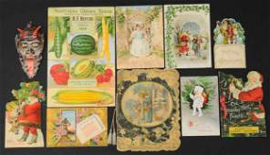 LARGE GROUPING OF CHRISTMAS GREETING CARDS