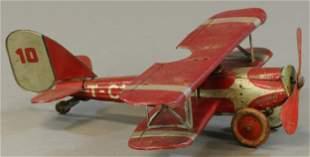 TIPPCO BI-WING AIRPLANE