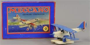 BOXED MECCANO SEAPLANE