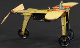 FISCHER BLERIOT W/ FLAPPING WINGS