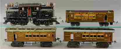 IVES 3240 LOCOMOTIVE  PASSENGER CARS
