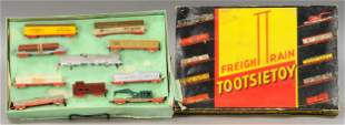 BOXED TOOTSIETOY TRAIN SET