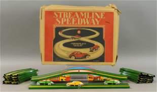 BOXED MARX STREAMLINE SPEEDWAY