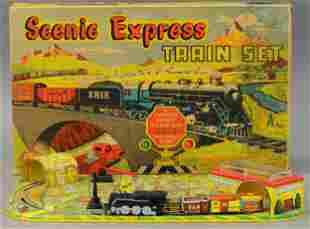 BOXED MARX SCENIC EXPRESS TRAIN SET