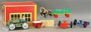 BOXED MARX TRACTOR & PLOW ATTACHMENTS