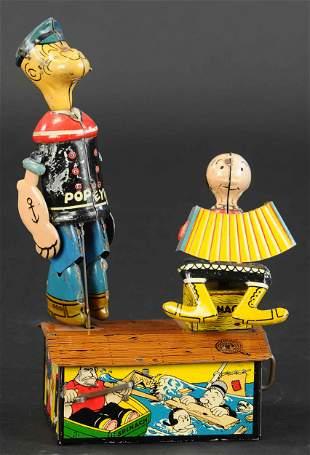 MARX POPEYE & OLIVE OYL JIGGER