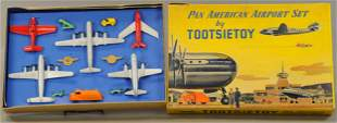 BOXED TOOTSIETOY PAN AMERICAN AIRPORT SET