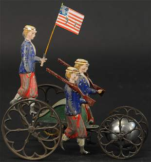 ALTHOF BERGMANN SUFFRAGETTE BELL TOY