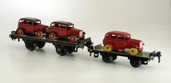 1485: LOT OF TWO MARKLIN AUTO TRAIN HAULERS