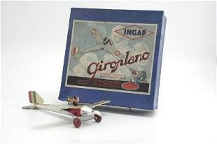 1706: BOXED INGAP GYROSCOPE AIRPLANE