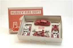 1745: BOXED HUBLEY FIRE DEPT. SET NO. 30