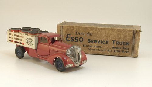 "1846: BOXED METALCRAFT ""ESSO"" STAKE TRUCK"