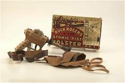 1861: BUCK ROGERS ATOMIC PISTOL AND HOLSTER SET