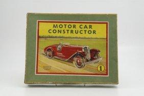 1958: BOXED MECCANO NO. 1 CONSTRUCTOR AUTO SET