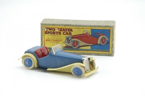 1959: MECCANO BOXED TWO SEAT SPORTS CAR