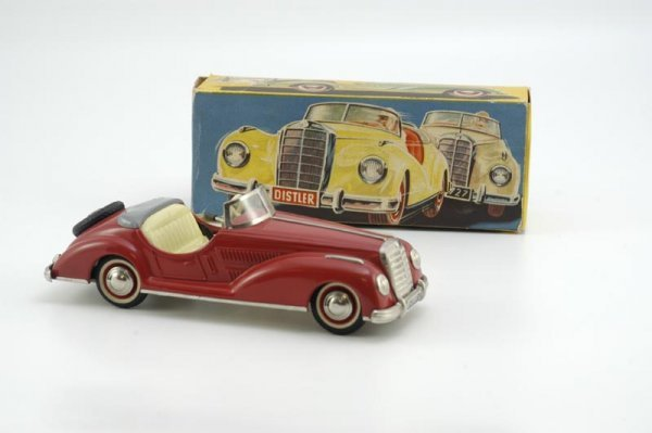 1960: BOXED DISTLER OPEN ROADSTER