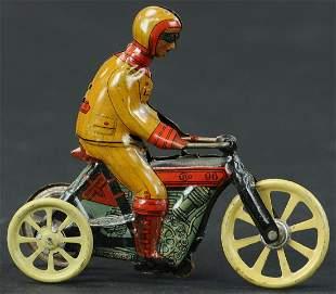 KELLERMAN MOTORCYCLE PENNY TOY