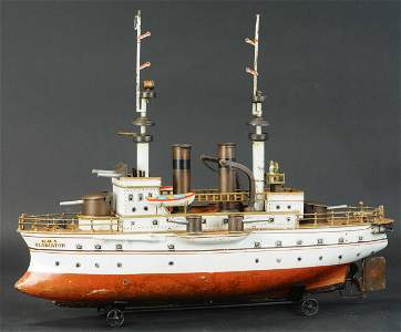 MARKLIN BATTLESHIP HMS GLADIATOR
