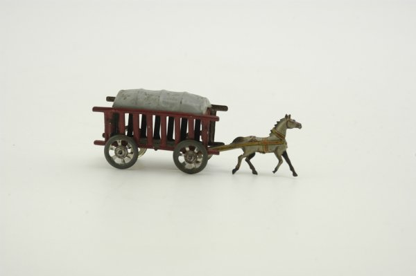 683: MEIER COVERED WAGON PENNY TOY