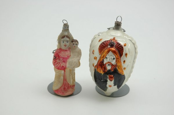 1565: LOT OF TWO RELIGIOUS ORNAMENTS