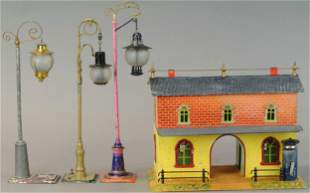 BING STATION LAMPS AND STATION