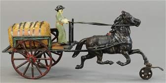 PRATT & LETCHWORTH HORSE DRAWN CART