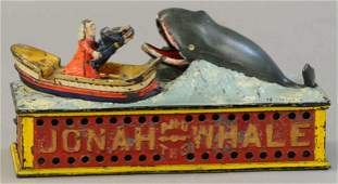JONAH & WHALE MECHANICAL BANK