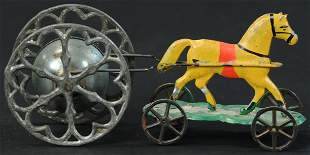 GONG BELL HORSE BELL CHIME TOY