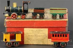 BOXED MARKLIN SPRING-CLIP TRAIN SET